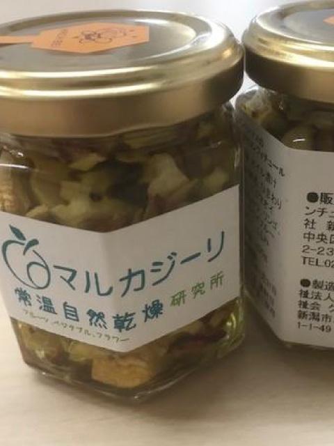 常温自然乾燥野菜・果物を使用した商品開発