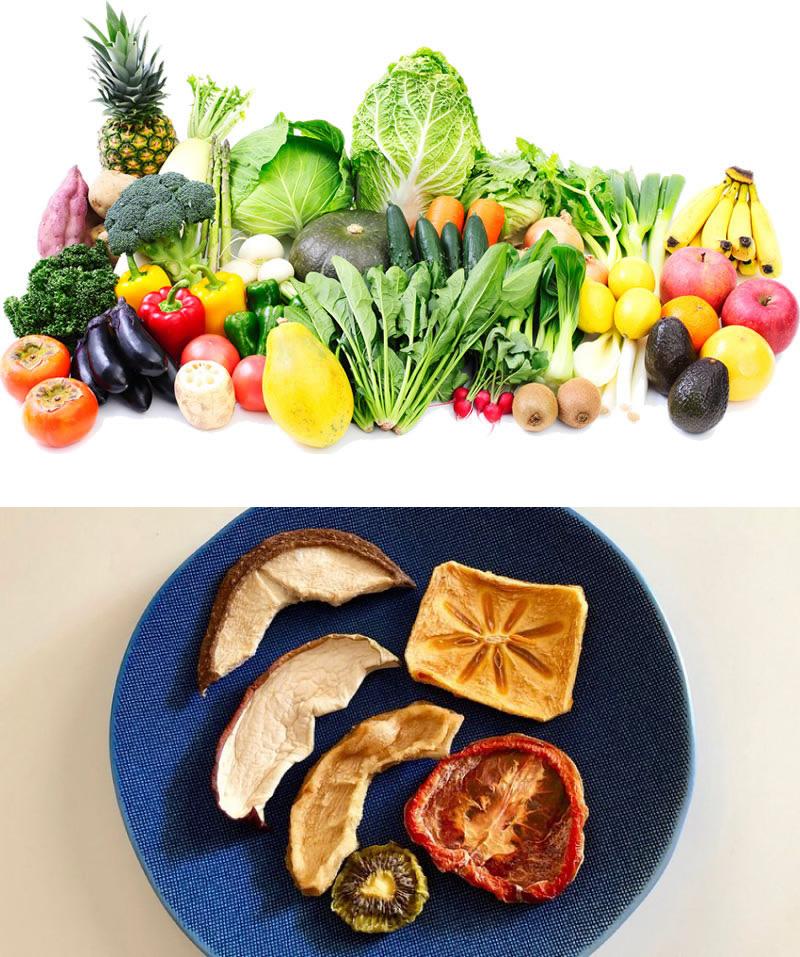 野菜・乾燥果物
